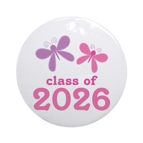 Class of 2026 Ornament (Round)