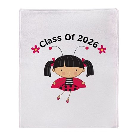 2026 Class of Throw Blanket