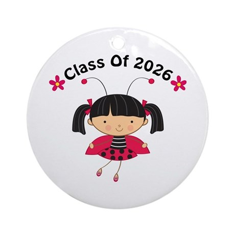 2026 Class of Ornament (Round)