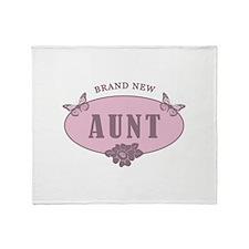 Brand New Aunt Throw Blanket