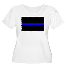 Police Thin Blue Line T-Shirt