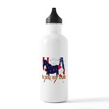 Patriotic Horse Water Bottle