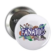 "Sports Fanatic 2.25"" Button (10 pack)"