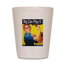 We Can Play It! Shot Glass