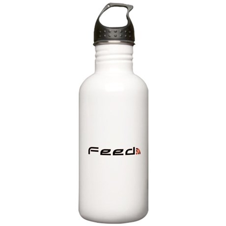 Orange RSS Feed Stainless Water Bottle 1.0L