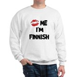 Kiss Me I'm Finnish Jumper