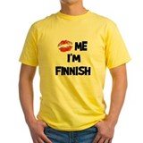 Kiss Me I'm Finnish T