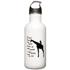 Giraffenapping Water Bottle