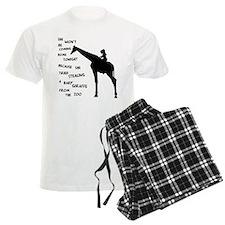Giraffenapping Pajamas