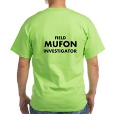 Green Field Investigator T-Shirt