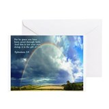Ephesians 2:8 Greeting Cards (Pk of 20)