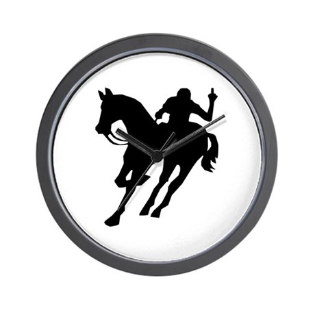 F*ck Polo Wall Clock