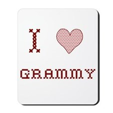 I [Heart] Grammy Mousepad