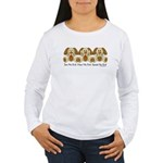 No Evil Puppies Women's Long Sleeve T-Shirt