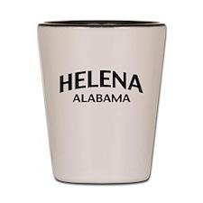 Helena Alabama Shot Glass
