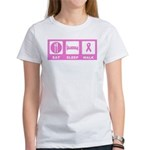 Eat Sleep Walk Women's T-Shirt