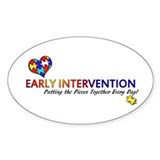 Early Intervention (Autism) Bumper Stickers