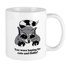 Raging Raccoon Small Mug