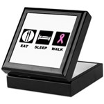 Eat Sleep Walk Keepsake Box