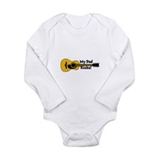My Dad Rocks! Long Sleeve Infant Bodysuit