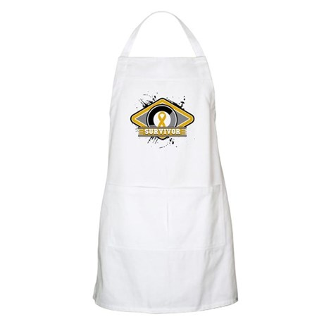 Appendix Cancer Survivor Apron