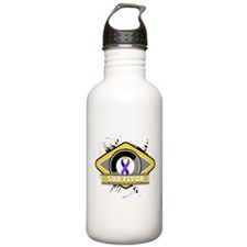 Bladder Cancer Survivor Water Bottle