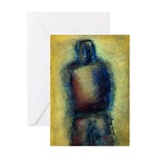 Figurative Pastel Painting Greeting Card