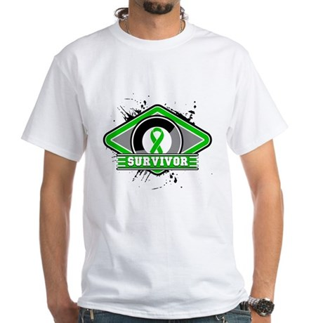 Bile Duct Cancer Survivor White T-Shirt