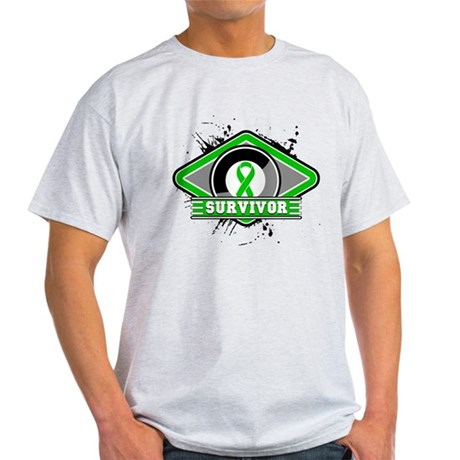 Bile Duct Cancer Survivor Light T-Shirt