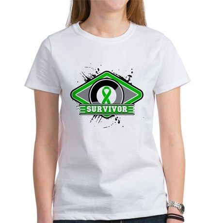 Bile Duct Cancer Survivor Women's T-Shirt