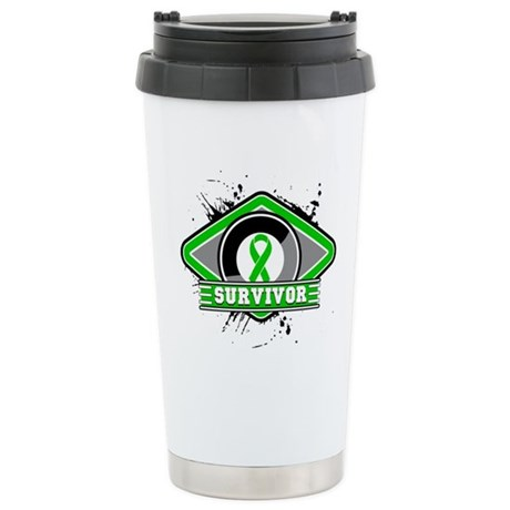 Bile Duct Cancer Survivor Ceramic Travel Mug