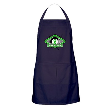 Bile Duct Cancer Survivor Apron (dark)
