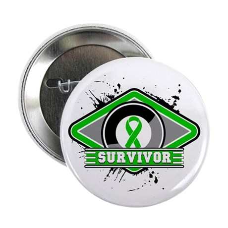 "Bile Duct Cancer Survivor 2.25"" Button"
