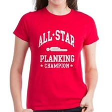 Women's All Star Planking Champion T-Shirt