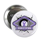 "Hodgkin's Lymphoma Survivor 2.25"" Button (10 pack)"