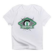 Liver Cancer Survivor Infant T-Shirt