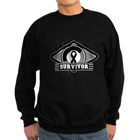 Melanoma Survivor Sweatshirt (dark)