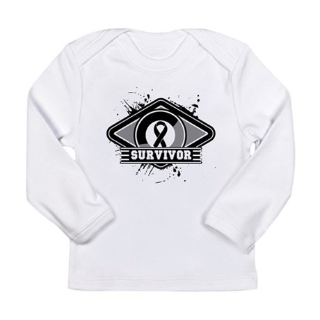 Melanoma Survivor Long Sleeve Infant T-Shirt
