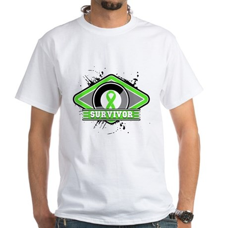 Non-Hodgkin's Lymphoma White T-Shirt