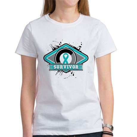 Ovarian Cancer Survivor Women's T-Shirt