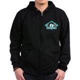 Ovarian Cancer Survivor Zip Hoody