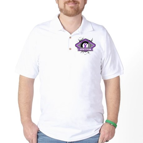Pancreatic Cancer Survivor Golf Shirt