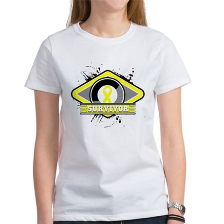Sarcoma Cancer Survivor Women's T-Shirt