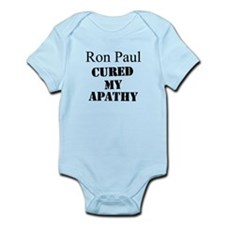 Ron Paul Cured My Apathy Infant Bodysuit