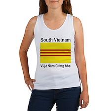 Cute Republic of vietnam Women's Tank Top