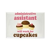 Funny Administrative Assistant Rectangle Magnet