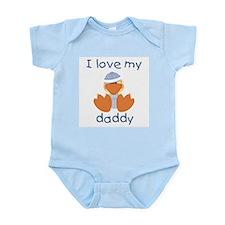 I love my daddy (baby boy ducky) Infant Creeper