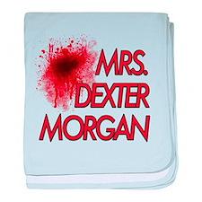 Mrs. Dexter Morgan baby blanket