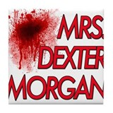 Mrs. Dexter Morgan Tile Coaster