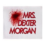 Mrs. Dexter Morgan Throw Blanket